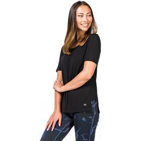 super.natural Panel Camiseta Mujer, jet black